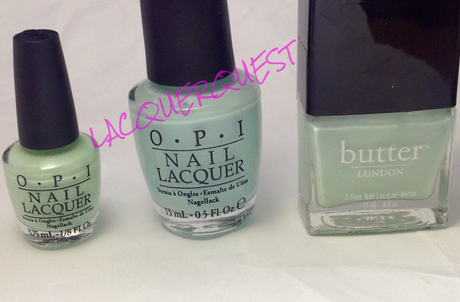 Opi Gargantuan Green Grape Blue Gargantuan Green Grape